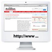 Artikel-Link zur Homepage des Hoechster Kreisblatts